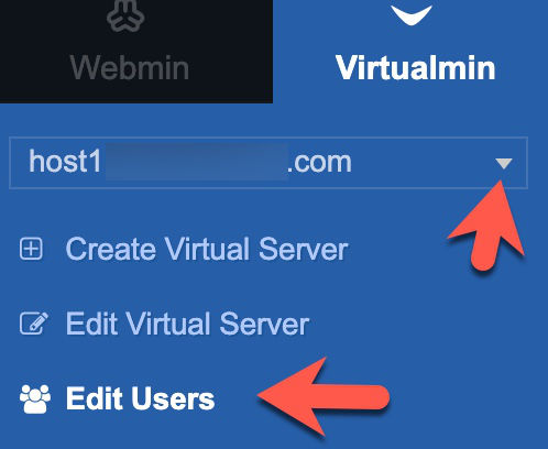 add ftp user virtualmin